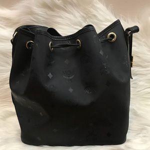 5dc675427 MCM Bags | Vintage Coated Canvas Bucket Shoulder Bag | Poshmark